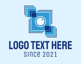 Camera - Blue Box Camera logo design