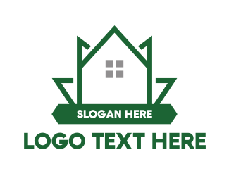 Therapist - Green Leaf House logo design
