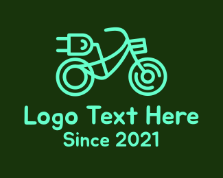 """""""Green Electric Bicycle"""" by spayro"""