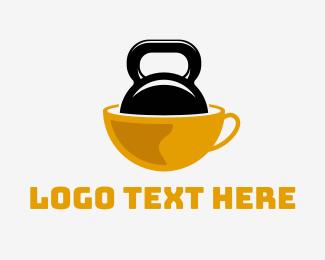 Coffee - Strong Coffee logo design