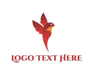 Cardinal - Flying Cardinal logo design