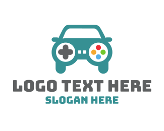 Car - Car Gaming logo design