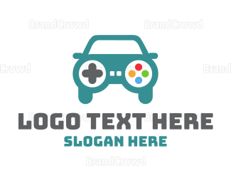 Car Racing - Car Gaming logo design