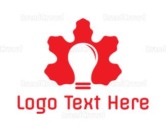 Canadian - Canadian Light Bulb logo design
