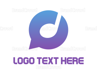 Chat - Musical Chat logo design