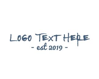 Rustic Handwritten Font Logo