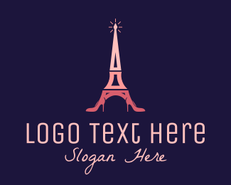 Clothing - Paris Stiletto Shoes logo design