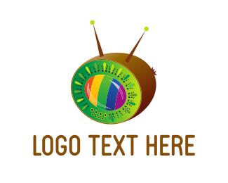 Program - Kiwi Broadcast logo design