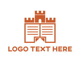 Pages - Castle Documents logo design