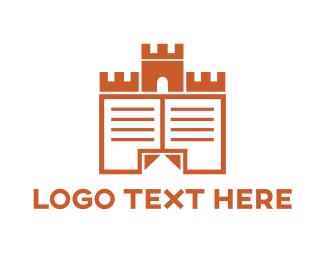 Teacher - Castle Documents logo design
