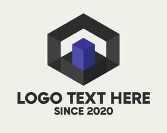 """""""Geometric 3D Hexagon"""" by Alexxx"""