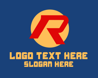 Letter R - Modern Letter R  logo design