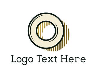 Letter O - Vintage Letter O logo design
