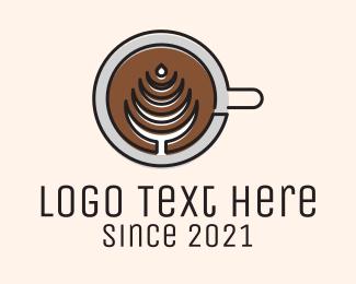 Coffee Shop - Latte Coffee Shop logo design