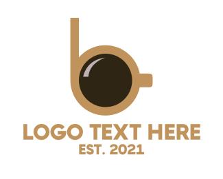 Latte - Coffee Cup B logo design
