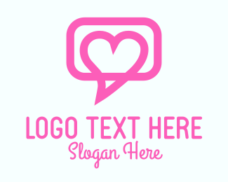 Heart Message Dating  Logo