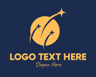 Space - Astronomical Space Center logo design
