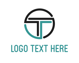 Digital - Tech Letter T logo design