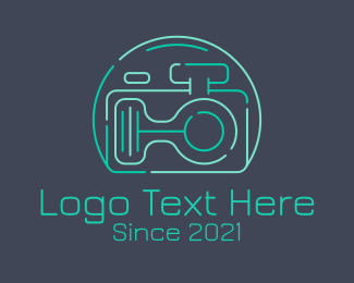 Photography - Digital Camera Aquarium logo design