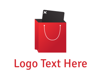 Shopping Bag - Shopping App logo design