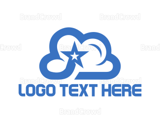 Star - Star Cloud logo design