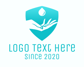 Shield - Safe Hand Washing logo design