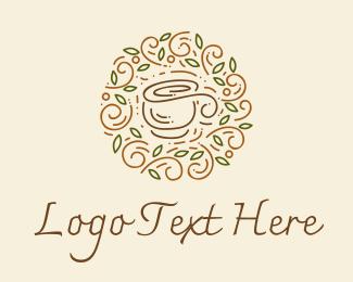 Ice Tea - Coffee Tea Cafe  logo design