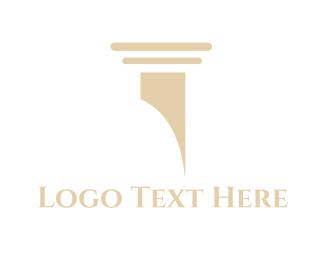 Classical - Classic Column  logo design