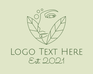 Feminine  Product - Natural Beauty Spa logo design