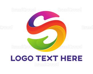 Bio Tech - Artistic Letter S logo design