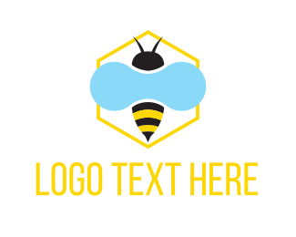 Pest Control - Honey Bee logo design