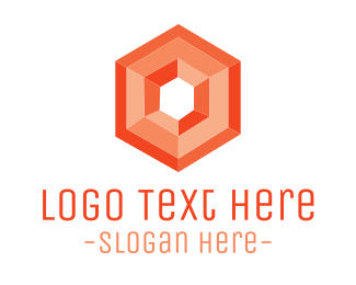 Red & Geometric  Logo