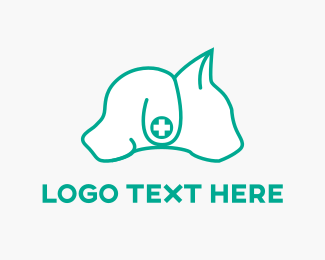 Cat And Dog - Dog & Cat logo design