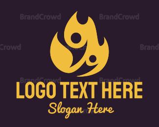 Fire - Fire Team logo design