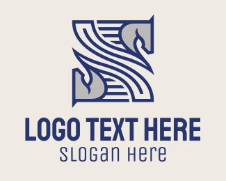 Pattern - Horse Pattern logo design