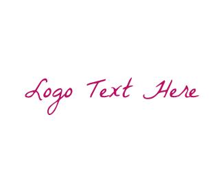 Vintage - Vintage Handwriting logo design