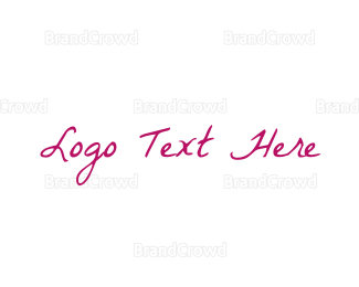 Casual - Vintage Handwriting logo design