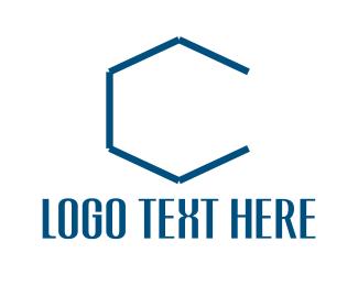 Hexagonal - Hexagonal Letter C logo design