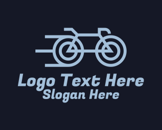 Cycling Club - Fast Bicycle Rider logo design