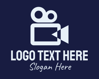 Video Recording - Movie Production Company logo design