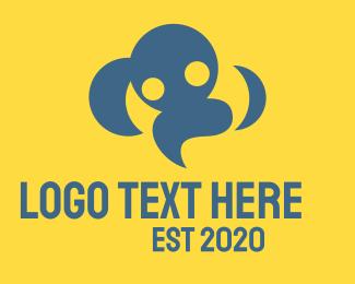 Foundations - Cloud People logo design