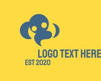 Happiness - Cloud People logo design