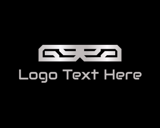 Engineering - Abstract Metal  logo design