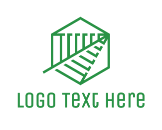 Wireless - Hexagon Antenna logo design