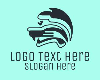 Robotics - Feline Robot logo design