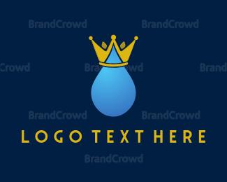 Drinking Water - Royal Water logo design