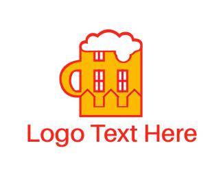Jar - Beer House logo design