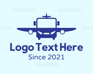 Commercial Plane - Air Bus logo design