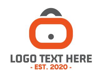 Secret - Lock Application logo design