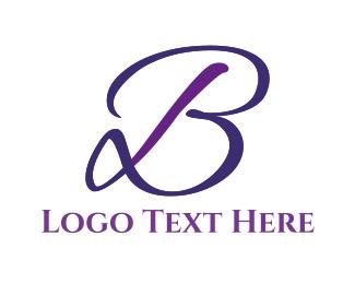 Wedding - Elegant Letter B logo design